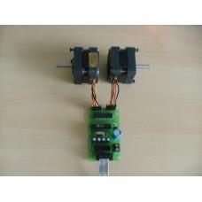 -کنترل کننده دیجیتال دور ، سرعت ، جهت  و زاویه موتور Stepper